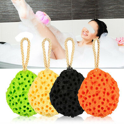 Soft Sponge Body Shower Spa Exfoliator Washing Cleansing Scrubber Bath Ball