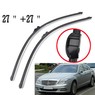 Front Windshield Wiper Blades For Mercedes-Benz S-Class CL-Class W221 W216