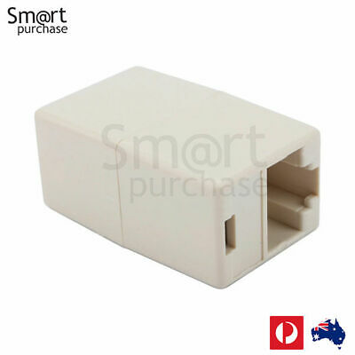 Brand New RJ45 CAT 5 5E Ethernet Lan Cable Joiner Coupler Connector