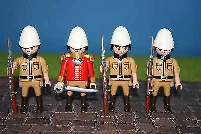 Engländer  TOP Zustand Uniform    Custom      Playmobil    # 4