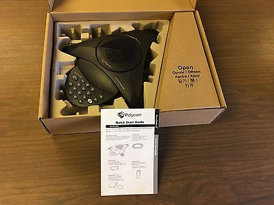 Polycom Soundstation 2 Full Duplex Conference Phone (2200-15100-601) New In Box!