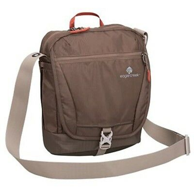 Eagle Creek Guide Pro Courier Rfid Organizer Bag (Brown)