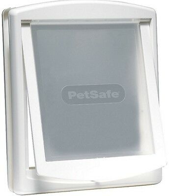 Petsafe Staywell Large Dog Door White 760 Brand New With 2 Way Locking