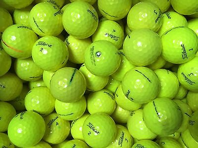 40 Nxt Tour S Yellow Golf Balls - Lakeballs Clearance Mix