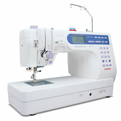 Janome 6500 Memory Craft Sewing Machine 6500p Factory Refurbished with Warranty