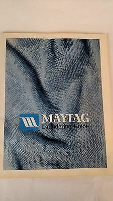 Vintage Owner's Manual Maytag Laundering Guide #2-03953