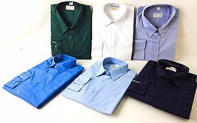 Top Quality Mens Long Sleeve Shirt Business Work Smart Formal Casual Dress Shirt