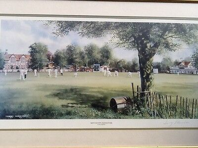 Mays Bounty Basinstoke Ltd Edition Print Signed Terry Harrison  Framed Picture