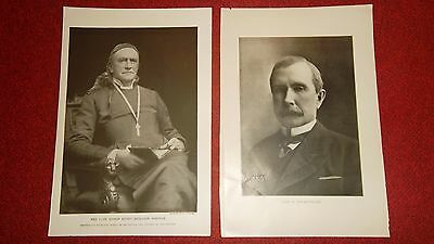 9 Photographic Images  -  Book Plates  - Rockefeller  Willard  WHITTIER  Emperor