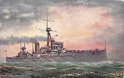 POSTCARD  SHIPS    HMS  DREADNOUGHT       Tuck