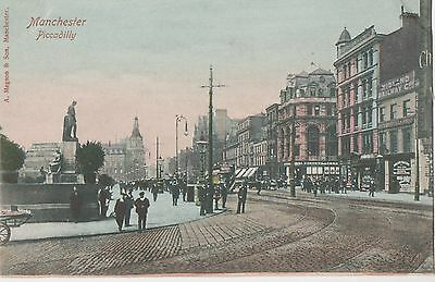 POSTCARD  MANCHESTER  Piccadilly