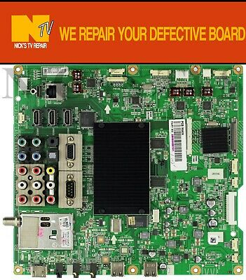 Mail-in Repair Service For LG 55LE8500 Main Board 1 YEAR WARRANTY