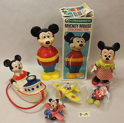 Mickey Mouse Toys, Vintage (D-19)