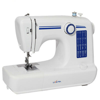 Loskii 16 Stitches Multifunction Electric Sewing Machine Household Double Stitch