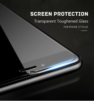 Real Gorilla Tempered Glass Toughened Protective Film for iPhone 7 7 Plus 5s 6s