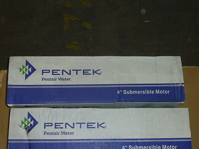 "NEW Pentair P43B0020A3-C Pentek 4"" Submersible Motor Stainless Steel 2 HP 230V"