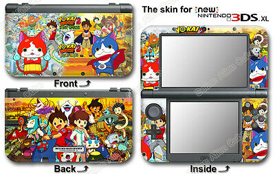 Yo-kai Watch Yokai Amazing Skin Sticker Decal Cover for NEW Nintendo 3DS XL