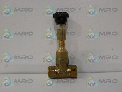 Ideal Valve 52-4-11 Needle Valve *new In Box*