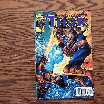 The Mighty Thor #22..nm..thanos Battle