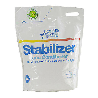 Star Plus Stabilizer & Conditioner Swimming Pool pH Balancer Pouch, 4 Pounds
