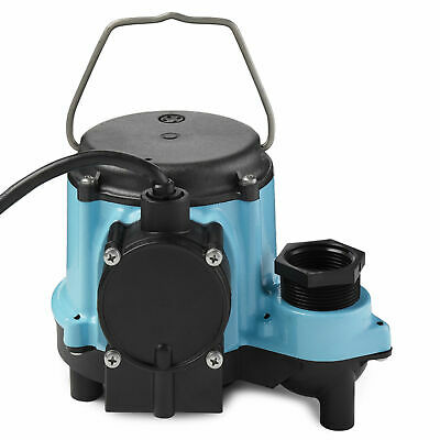 Little Giant 6 Series 6-CIA 1/3 HP Integral Diaphragm Submersible Sump Pump