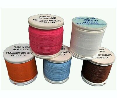 Seahorse 100 Yard Spool of Size C Rod Wrapping Thread - Rod Binding Cotton