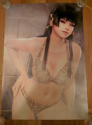 Dead or Alive DOA Xtreme 3 Nyotengu B2 Bath Poster NO CREASES FREE SHIPPING