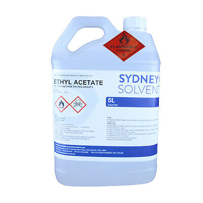 Ethyl Acetate Non Acetone Nail Polish Remover Decaffeinating Agent 5 Litre