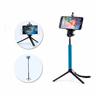Portable Tripod Monopod Stand Holder For Mobile Phone Gopro 3+ 4 DSLR DV Nikon