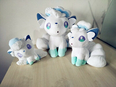Nintendo Pokemon Go Vulpix White Six Tail Fox Plush Doll Cartoon Dolls Kids Gift