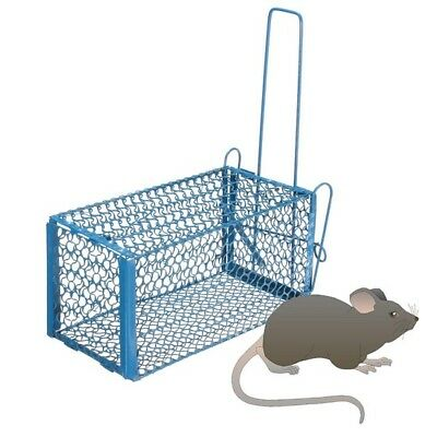Folding Human Rat Cage Trap Snap Humane Safe Mouse Rodent LiveAnimal Indoor Outd