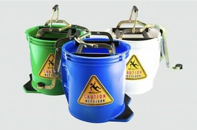 Mop Bucket 16lt Plastic Heavy Duty. All Colours Available