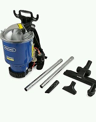 Pac Vac Superpro 700 Backpack Vacuum Cleaner. FREE SHIPPING