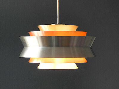 Very nice 60s swedish Carl Thore pendent lamp model Trava from Granhaga