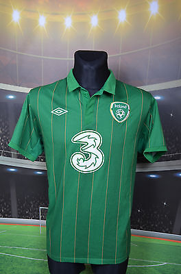 "Ireland Eire Umbro 2011-12 Home Football Soccer Shirt (44"") Jersey Top Trikot"