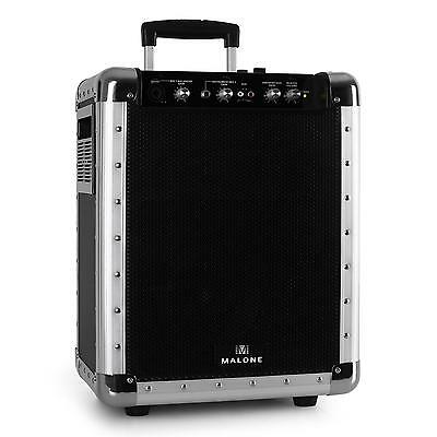 New Mobile Bluetooth Pa System With Battery Dj Pa Party Karaoke 50W Max Black