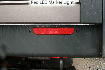 LED Red Rear Marker to fit Ford Transit Scattolini Dropside Tipper Light/lamp14+
