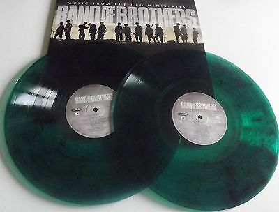 Band Of Brothers Double Vinyl Lp Coloured Movie Soundtrack 2016
