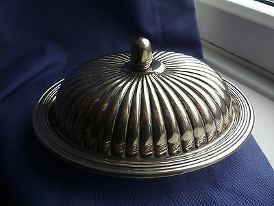 Falstaff Silver Plated Butter Dish complete with Lid