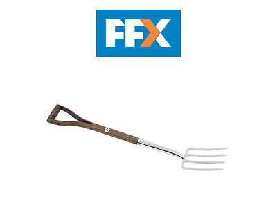 DRAPER 36677 Heritage Range Border Fork with FSC Certified Ash Handle