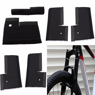 Chain Mountain Bike Protection Guard Nylon Fabric Front Fork Protector Sleeve