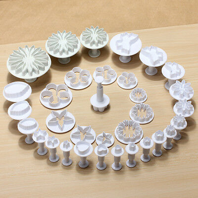 10 Sets 33PCS Fondant Cake Decorating Mold Set 03105