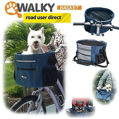 Walky Dog - The Dog Bike Basket - Fits All Cycles -  Free Delivery !