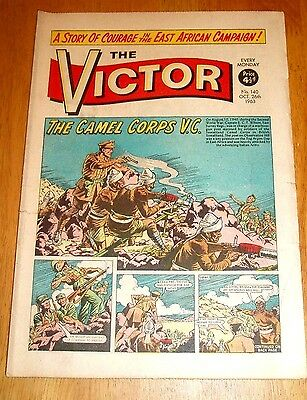 East Surrey Regiment & Camel Corps Somaliland Wilson Vc  Ww2 Cover  Victor 1963