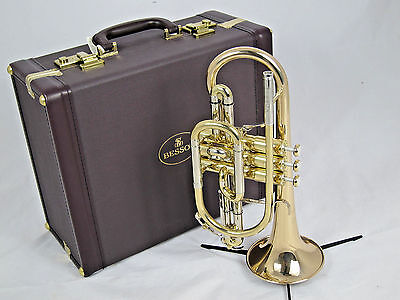 Besson Sovereign BE928G-1 B flat Cornet - lacquer (used instrument)
