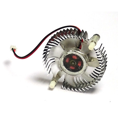 Computer PC Video Graphics Accelerator Card VGA Cooling Fan Cooler Heatsink UK