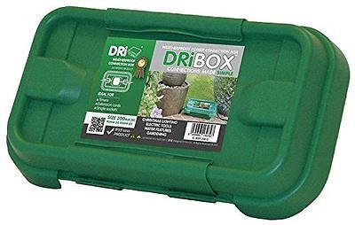 DRIBOX FL-1859-200G IP55 Small Weatherproof Electrical Box - Green