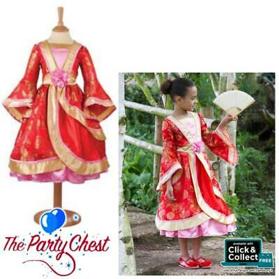 DELUXE ORIENTAL PRINCESS TRAVIS DESIGNS Girls Chinese New Year Fancy Dress OPR