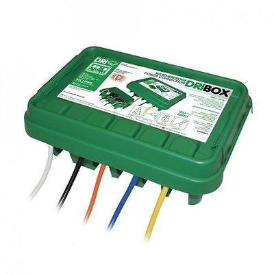 DRiBOX FL-1859-285G IP55 Medium Weatherproof Electrical Box - Green
