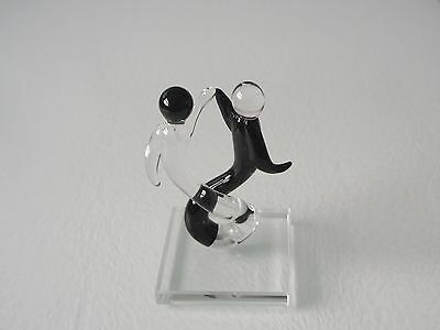 Modern Abstract Figures Dancing - Glass Ornament - Nicely Detailed - New & Boxed